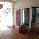 chodba vstup atrium +obývací p.