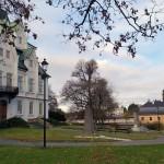 zámek a park